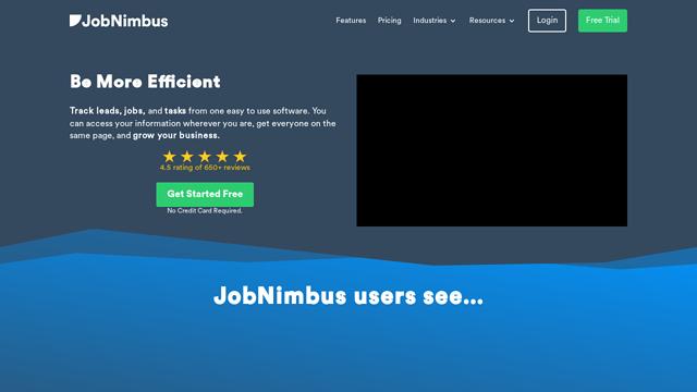 JobNimbus API koppeling