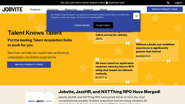 Jobvite API koppeling