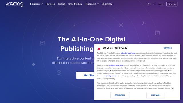 Joomag API koppeling