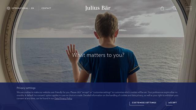 Julius-Baer API koppeling