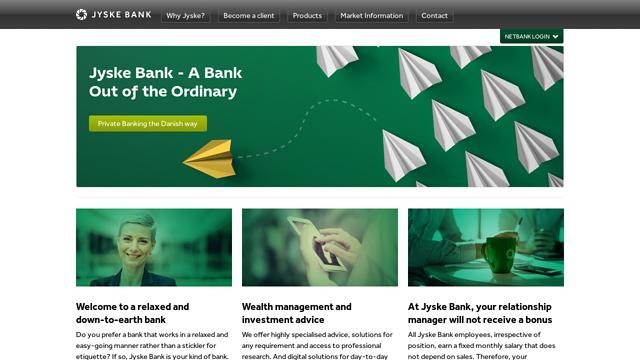 Jyske-Bank API koppeling
