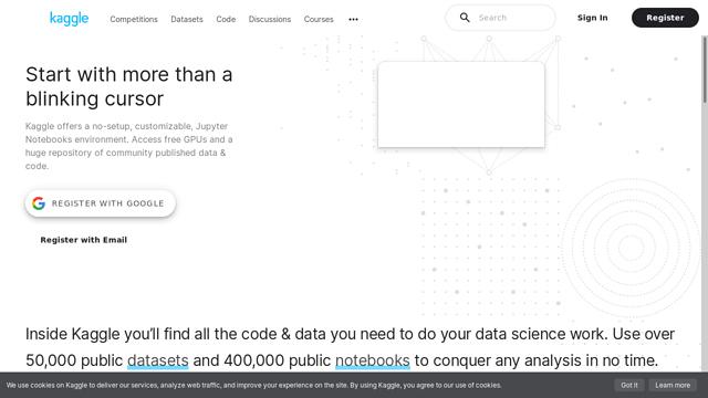 Kaggle API koppeling