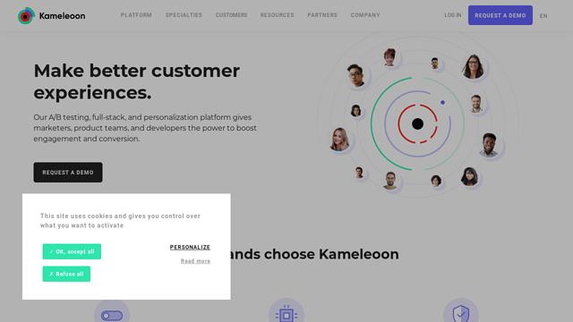Kameleoon API koppeling