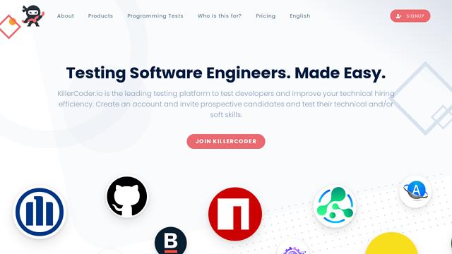 KillerCoder.io API koppeling