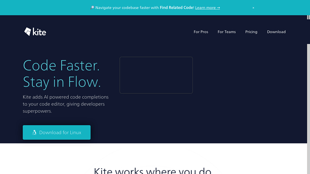 Kite.com API koppeling
