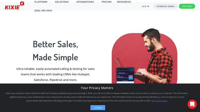 Kixie API koppeling