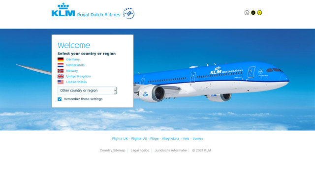 KLM-Royal-Dutch-Airlines API koppeling