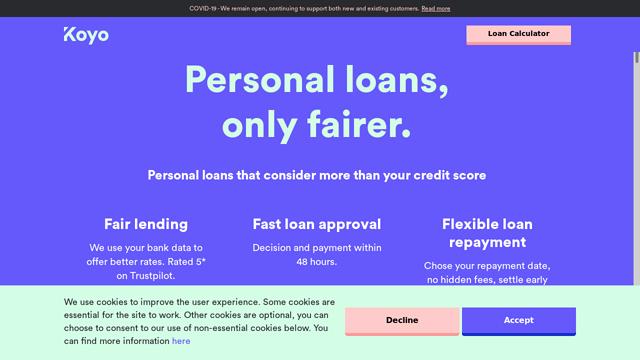 Koyo-Loans API koppeling
