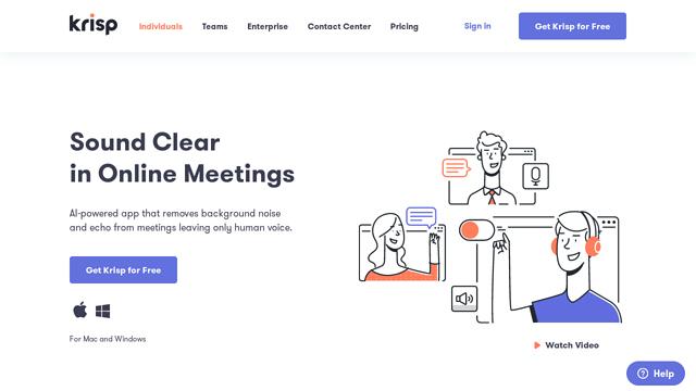 Krisp-Rooms API koppeling