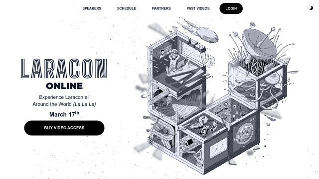 Laracon-US API koppeling