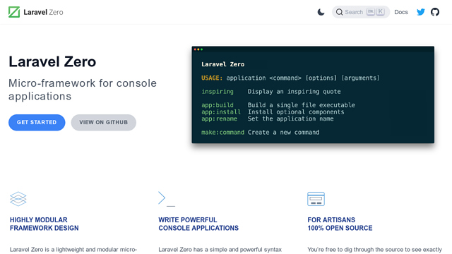 Laravel-Zero API koppeling