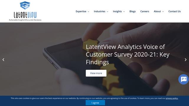 Latent-View-Analytics API koppeling