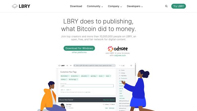 LBRY API koppeling