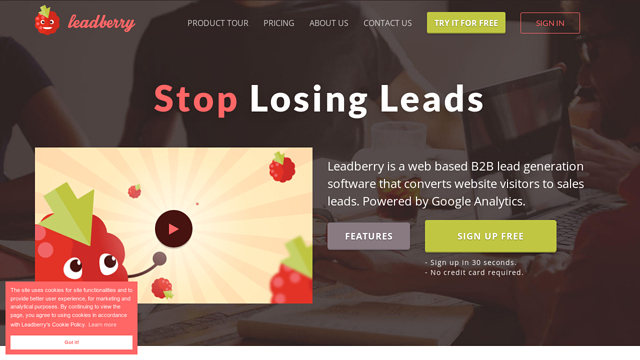 Leadberry API koppeling