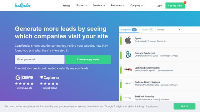 Leadfeeder API koppeling