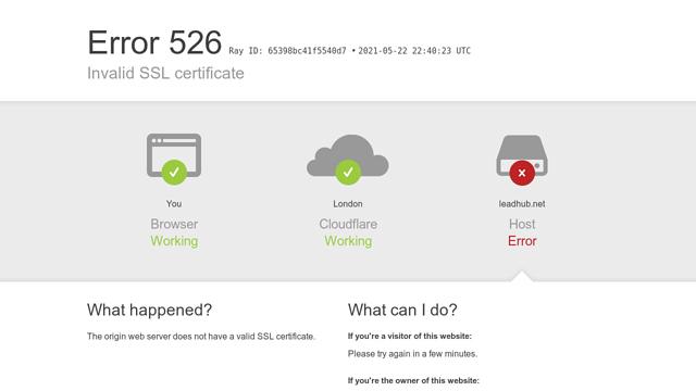 LeadHub API koppeling
