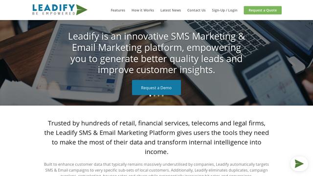 Leadify API koppeling