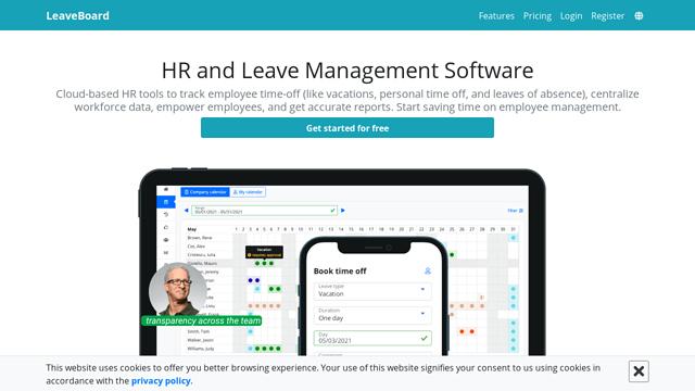 LeaveBoard API koppeling