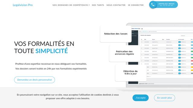 LegalVisionPro API koppeling