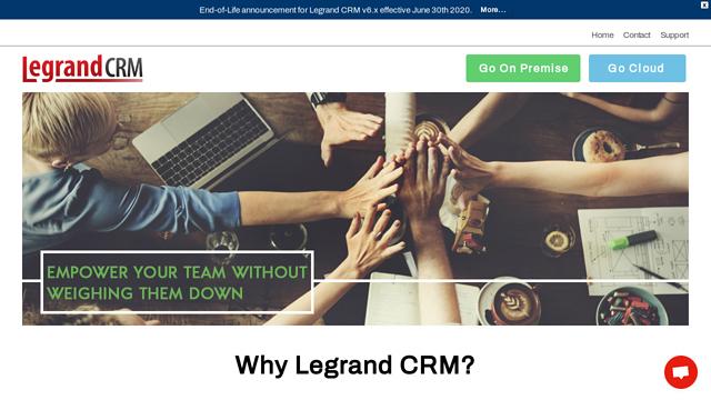 LegrandCRM API koppeling