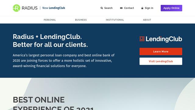 Lendingclub-Bank-(formerly-Radius-Bank) API koppeling