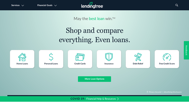 LendingTree API koppeling