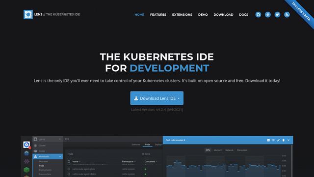 Lens-|-The-Kubernetes-IDE API koppeling