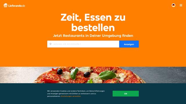 Lieferando.de API koppeling