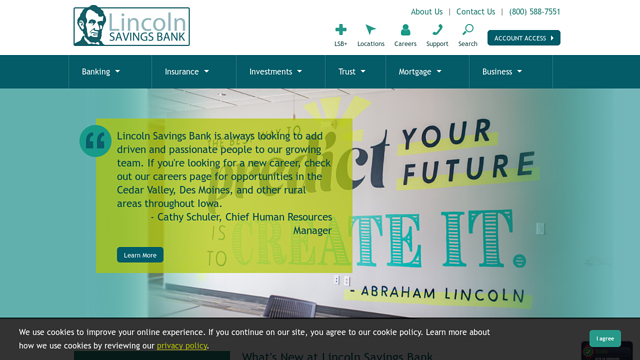 Lincoln-Savings-Bank API koppeling