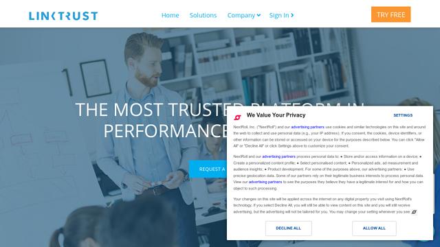 Linktrust API koppeling