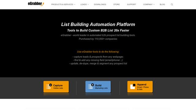 ListGrabber API koppeling