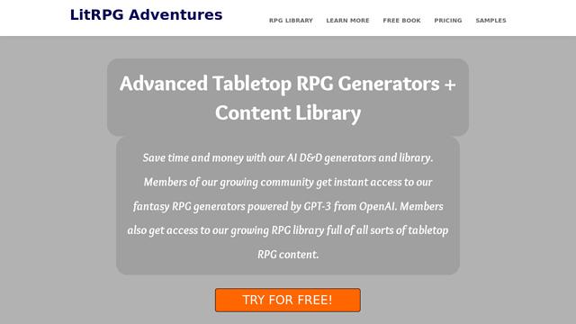 LitRPG-Adventures API koppeling
