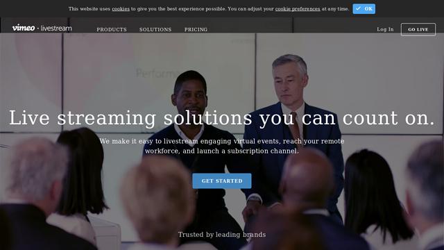 Livestream-LLC API koppeling