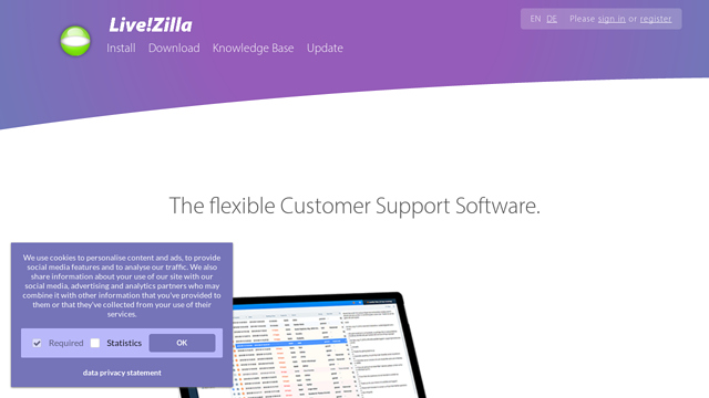 LiveZilla API koppeling