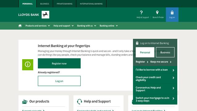 Lloyds-Bank API koppeling