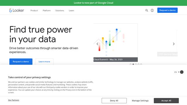 Looker API koppeling
