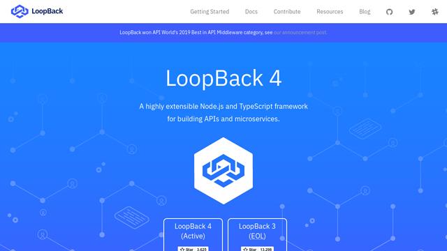 LoopBack API koppeling