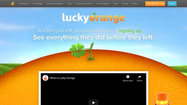 Lucky-Orange API koppeling