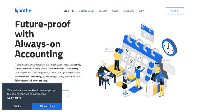 lyanthe API koppeling