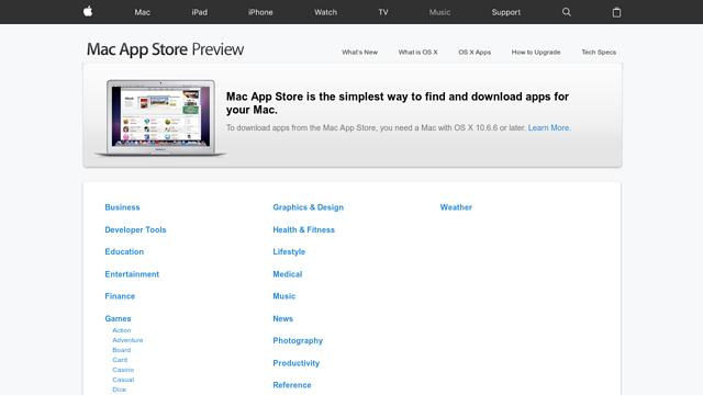 Mac-App-Store API koppeling