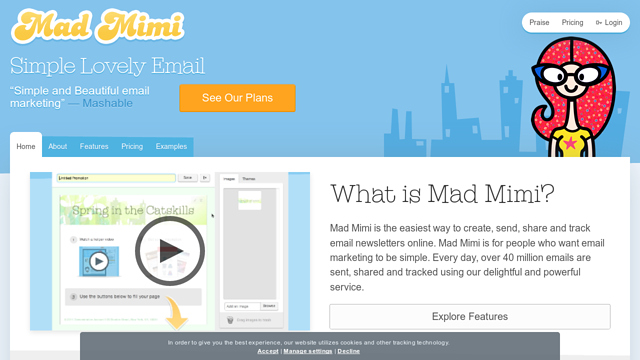 Mad-Mimi API koppeling