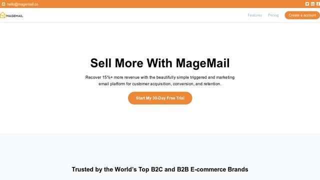 MageMail API koppeling