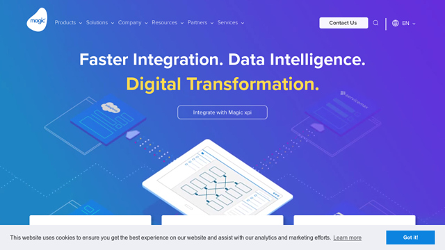 Magic-Software-Enterprises API koppeling