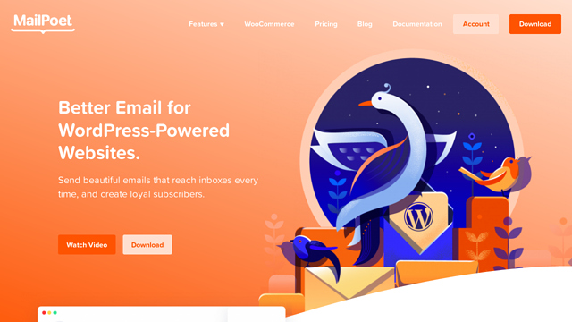 MailPoet API koppeling