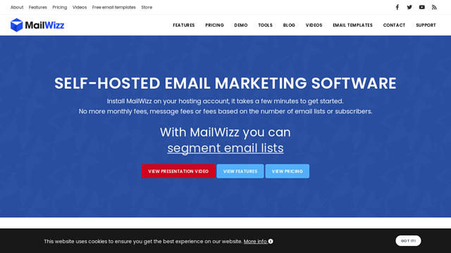 MailWizz API koppeling
