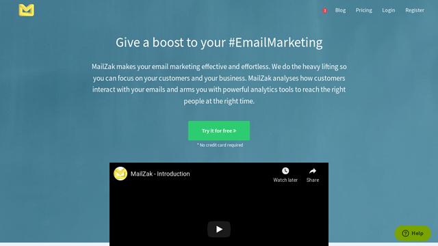 MailZak API koppeling