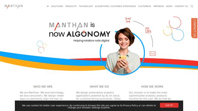 Manthan API koppeling