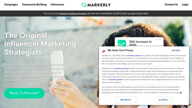 Markerly API koppeling