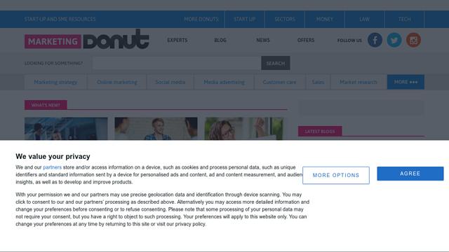 Marketingdonut API koppeling