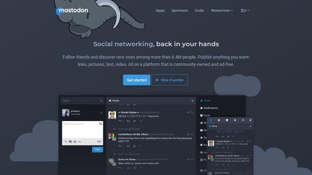 Mastodon API koppeling